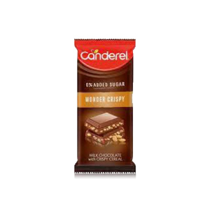 Canderel Chocolate Wonder Crispy 100g