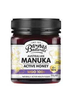 Barnes Naturals Manuka Active Honey Mgo100+ 250g