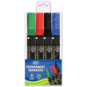 Fis Permanent Marker Fine 1pc