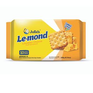 Julie'S Le-Mond Cheddar Cheese Cream Puff Sandwich 54g