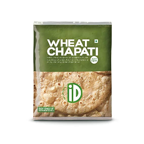 Id Natural Whole Wheat Chapati 400g