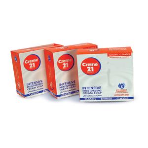 Creme 21 Intensive Moisturizing Cream Soap 125g