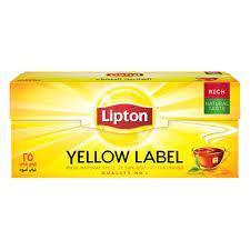 Lipton Yellow Label Tea Bag Fresh 200s