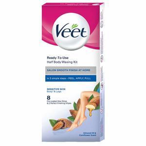 Veet Wax Strips Velvet Almond Oil Senstive Skin 12x20s