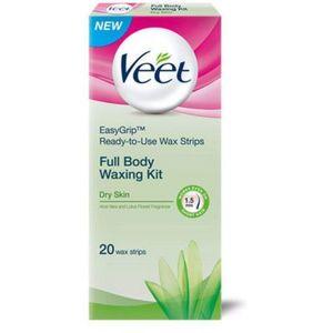Veet Wax Strips Dry Skin 2x20s