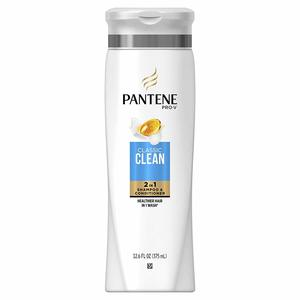 Pantene Shampoo Classic And Clean 2x400ml