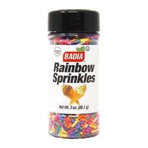 Badia Rainbow Sprinkles Gluten Free 85.1g