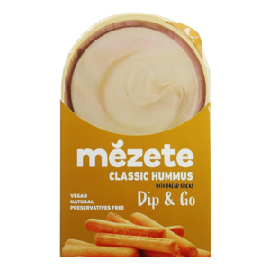 Mezete Hummus Classic And Bread Sticks 86g
