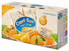 Capri Sun Orange Fruit Crush 10x200ml