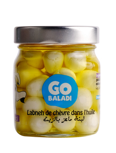 Go Baladi Goat Labneh With Olive Oil 300g