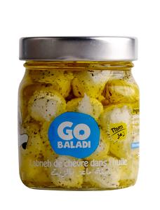 Go Baladi Goat Labneh With Zaatar 280g