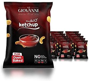 Giovanni Italian Pufak Ketchup Flavoured Chips 35g