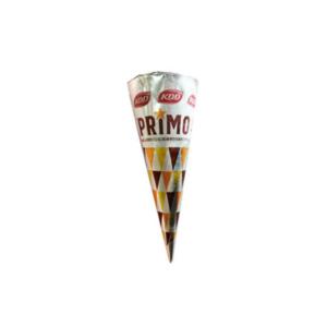 KDD Primo Vanilla Choco Cone With Almond Topping 1pc