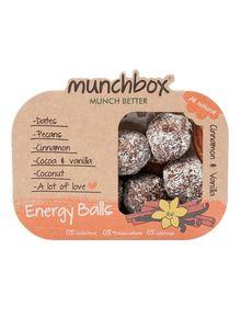 Munchbox Energy Balls Cinnamon And Vanilla 3x80g
