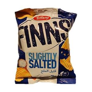 Finns Tiffany Crinkled Potato Chips Flow Pack Cheese 200g