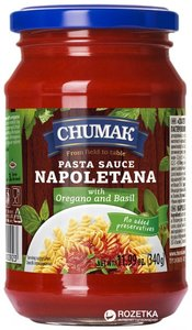 Chumak Pasta Sauce Napolitana 340g