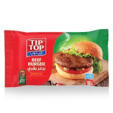 Eight Supermarket Tip Top Pure Beef Burger 900g