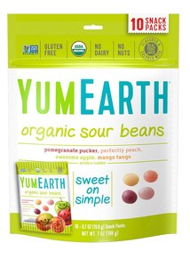 Yum Earth Organic Sour Beans 50g