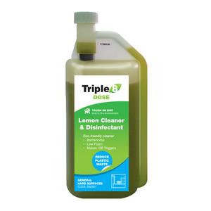 Eight Supermarket Triple Clean General Cleaner Lemon 3-In-1 1L