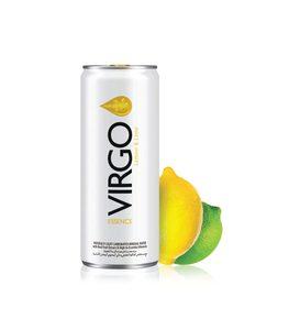 Virgo Water Lemon And Lime 24x250ml