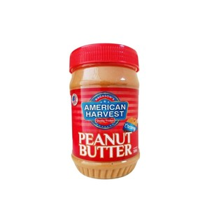 American Harvest Peanut Butter Creamy All Natural 510g