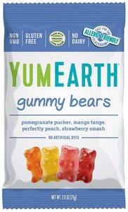 Yum Earth Organic Gummy Bears 50g