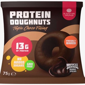 Alasature Triple Chocolate Protein Doughnuts 1pc