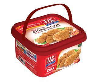 Tip Top Zing Broasted Chicken Cuts 800g