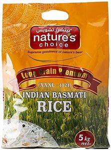 Natures Choice Indian Basmati Rice 2kg