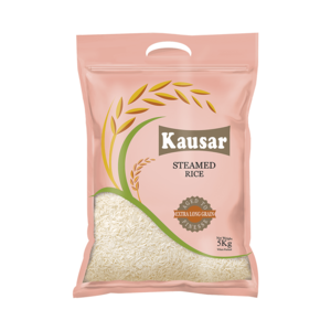 Kausar Basmati Steamed Rice 5kg