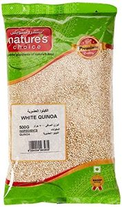 Natures Choice White Quinoa Jar 500g