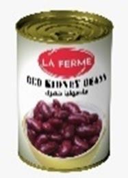 La Ferme Red Beans 6x400g