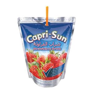 Caprisun Strawberry 100% Fruit 200ml