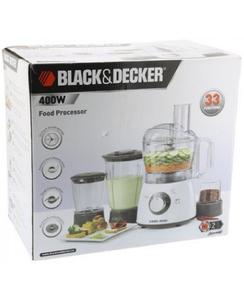 Black & Decker Food Processor 400W 1pc