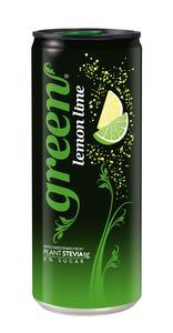 Green Cola Lemon Lime 330ml