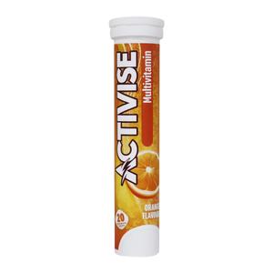 Activise Multi Vitamin + Calcium Tablets Strawberry 1pc