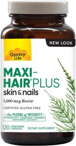 Country Life Maxi Hair Plus Capules 120s