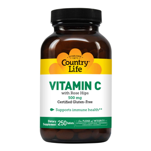 Country Life Vitamin C With Rose Hips 1pc