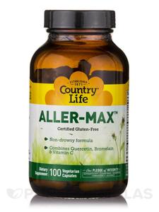 Country Life Allergen Max Vitamin Capsules 50s