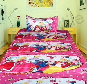 Princess Bed Sheet Set 152x228cm 2pcs