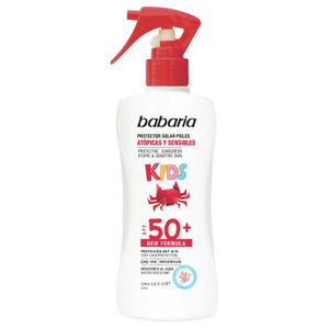 Babaria Solar Kids Mist Spray Spf 50 With Uva And Uvb Protection 200ml