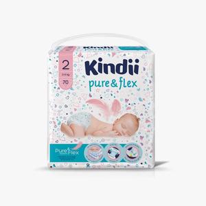Kindii Mini  Diapers Size 2 (3-6kg) 70pcs