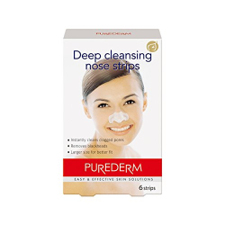 Pure Derm Deep Cleansing Nose Strips 6pcs