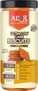 Ador Ultra Low Carb Biscuits Jeera Flavour 190g