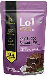 Lo! Low Carb Delights Keto Fudge Brownie Mix 500g