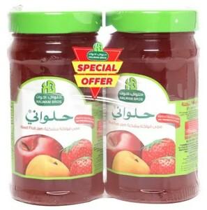 Halwani Jam Mixed Fruit 2x400g