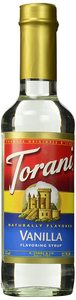 Torani Coffee Syrup Vanilla 12.7oz