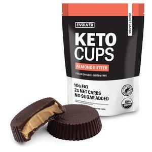 Evolved Keto Cups Almond Gluten Free Organic 4.93oz