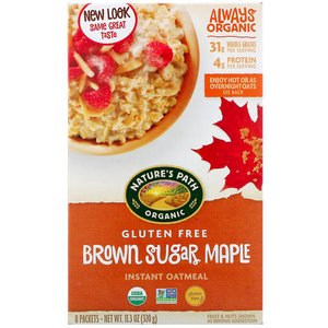 Nature's Path Oatmeal Sugar Maple Organic Gluten Free 11.3oz
