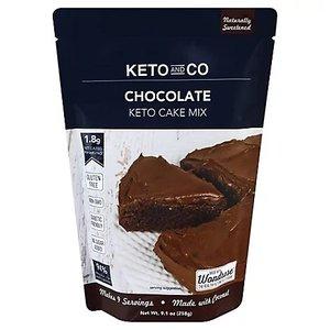 Keto&Co Keto Chocolate Cake Mix 9.1oz